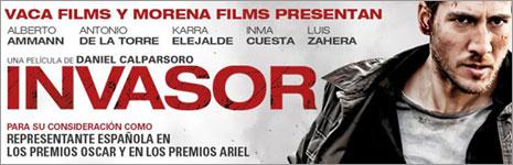 'Invasor' quiere ir a los Oscar sin haberse estrenado
