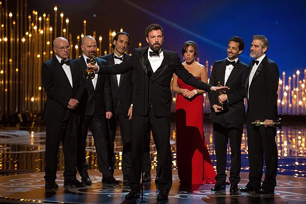 ¡Argoderse! Ben Affleck gana el Oscar a la mejor película pero 'La vida de Pi' suma cuatro estatuillas