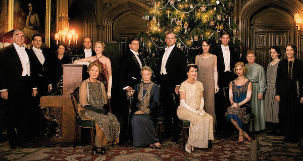 El reparto de Downton Abbey