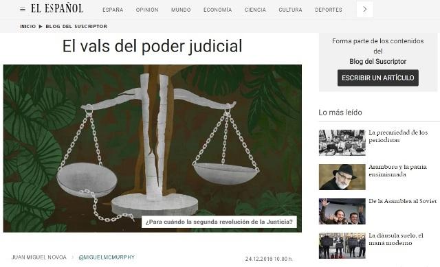 EL VALS DEL PODER JUDICIAL