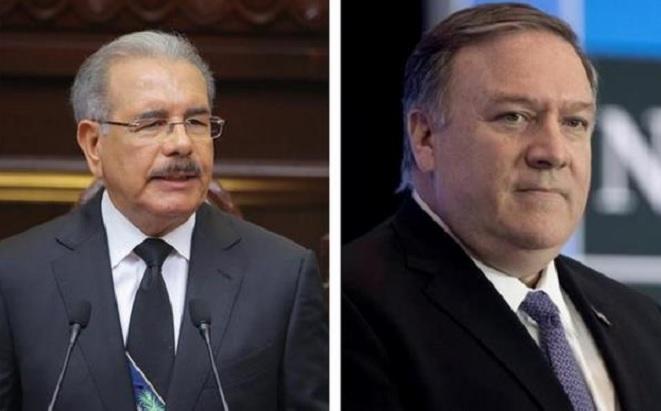 Secretario de Estado de EE.UU y Medina conversan sobre respeto a la Constitución  