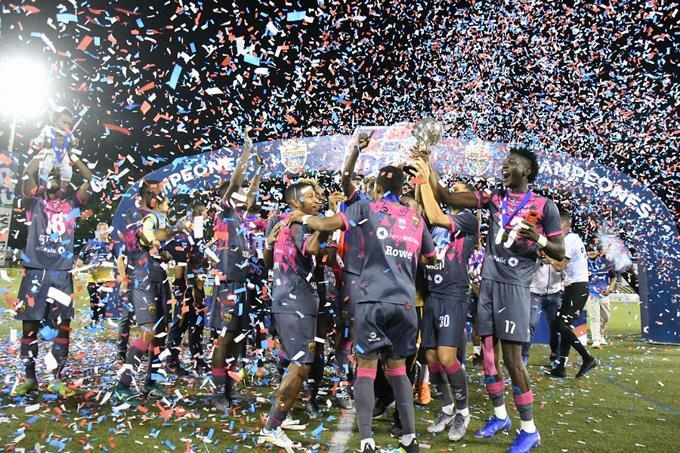 Pantoja campeón torneo Apertura LDF 2019 |
