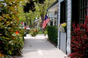 Los Olivos, CA - charming town in Santa Barbara wine country California