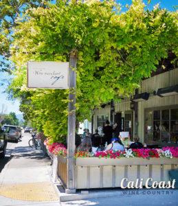 Los Olivos Wine Merchant Cafe Patio