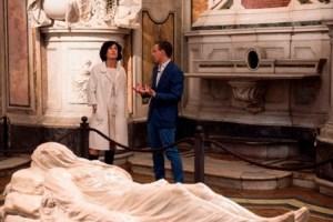 3. Visita Agnese Landini Renzi alla Cappella Sansevero (ph. Marco Ghidelli)