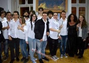 Il saluto finale dei giovani allievi del Liceo Musicale Margherita di Savoia