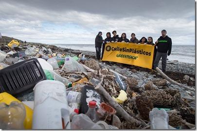 Limpieza en Magallanes. Campaña Chile sin Plásticos.