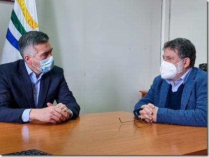 reunión alcalde panguipulli - gobernador regional 1