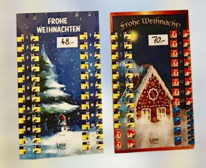 Adventskalender Lose Lotto