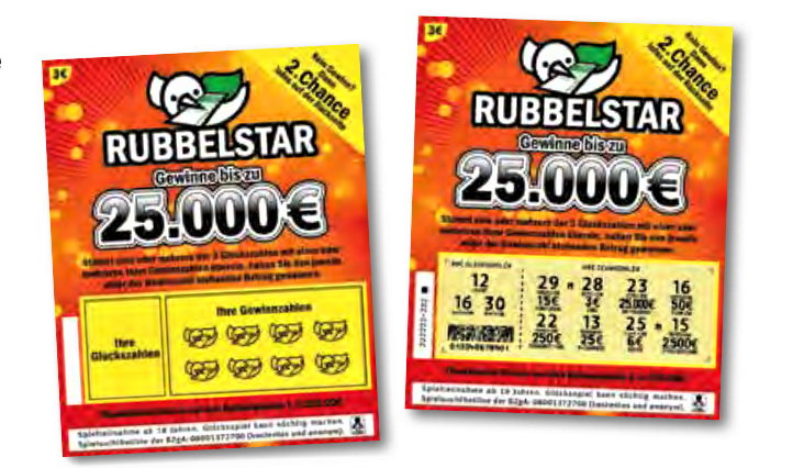 Lotto Rubbellos Adventskalender 2021