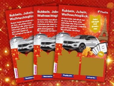 Thalia Rubbeln Jubeln Weihnachtsglück Los Frontansicht