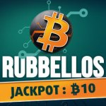 Bitcoin-Rubbellos, Jackpot: 10 Bitcoins