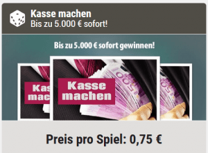 Kasse machen Alternative