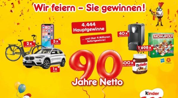 Netto Marken-Discount Wir feiern Sie gewinnen September 2018