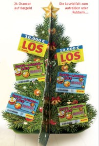 Adventskalender Lotto MV Frontansicht