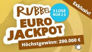 Rubbel EuroJackpot Rabatt