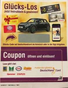 DeutschlandCard Glückslos