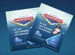 ARAL Monopoly Aufreißlose