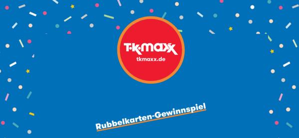 TKMaxx Rubbelkarten Gewinnspiel Screenshot