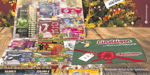 Adventsbox Lotto Thüringen