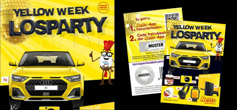 Netto Yellow Week Losparty 2020