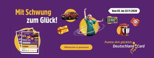 DeutschlandCard Glückslos Aktion Mit Schwung ins Glück 2020 Artikelbild