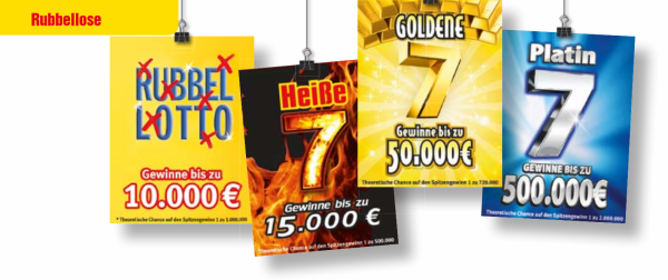 Lotto BW Online-Rubbellose
