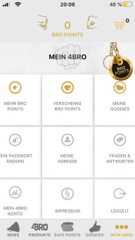 4Bro App Profilansicht