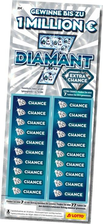 Diamant 7 Los (Vorderseite)
