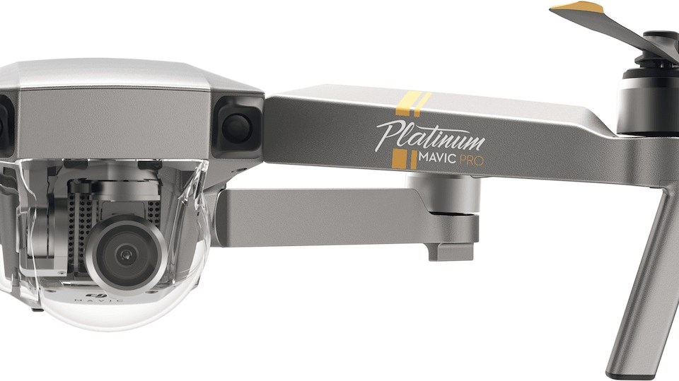 dji mavic Pro platinum fly more combo via tomtop