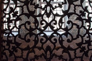 Ironwork inside the Hagia Sophia | Lost Not Found | Attack on Istanbul's Ataturk Airport
