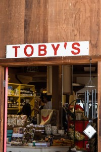 Toby's Feed Barn sign | Point Reyes Guide | LOST NOT FOUND