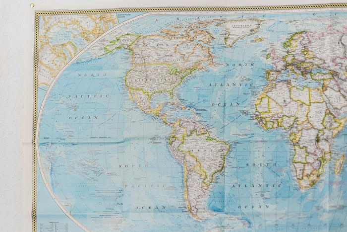World Map on Wall | LOST NOT FOUND | The Essential Collection of Travel Tips for New and Experienced Travelers