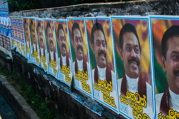 Political Posters in Sri Lanka 2014 | LOST NOT FOUND | Thoughts & Feelings Sri Lanka