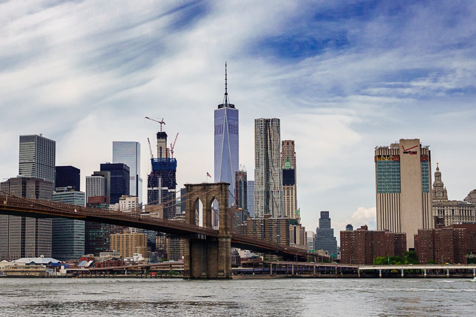 View of Lower Manhattan from Brooklyn | LOST NOT FOUND | NYC Restaurant Guide