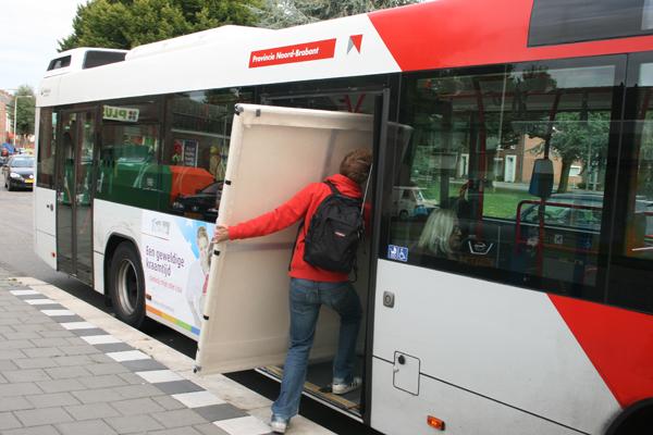 De bus in