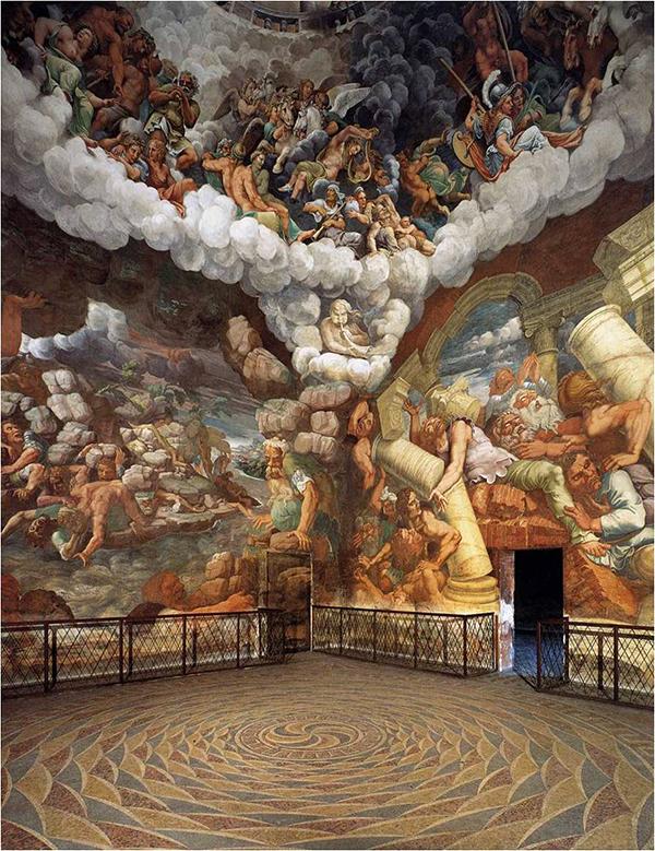 Giulio Romano - Zaal der Giganten - Palazzo Te, Mantua, 1532 – 1534