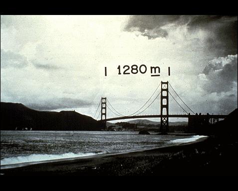104 - Golden Gate Bridge, Ansel Adams