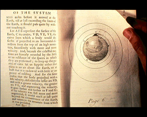 111 - Page of book (Newton, System of the World), NAIC