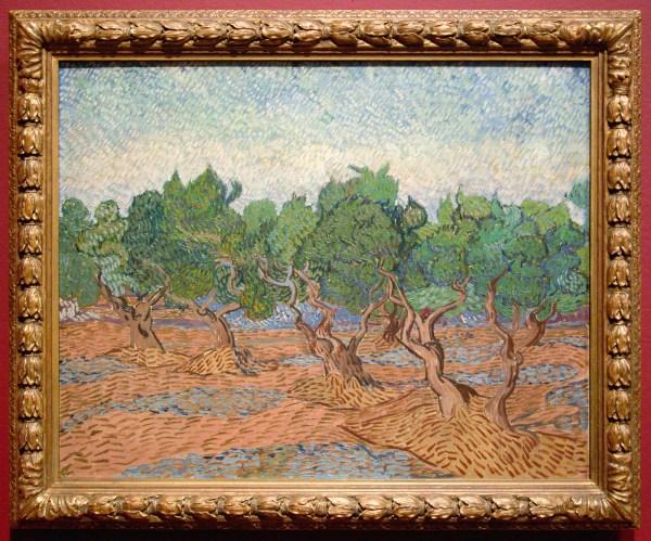 Vincent van Gogh - Olijfgaard - Olieverf op doek, 1889