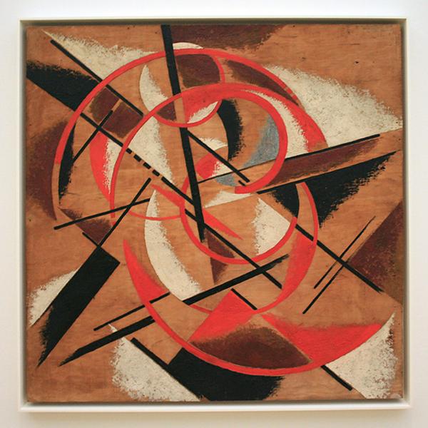 Kliment Redko - Suprematisme - Olieverf op doek 1921