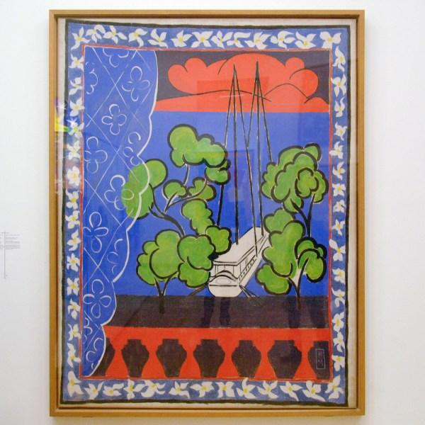 Henri Matisse - Raam op Thaiti (Thaiti II) - Gouache op papier, 1936
