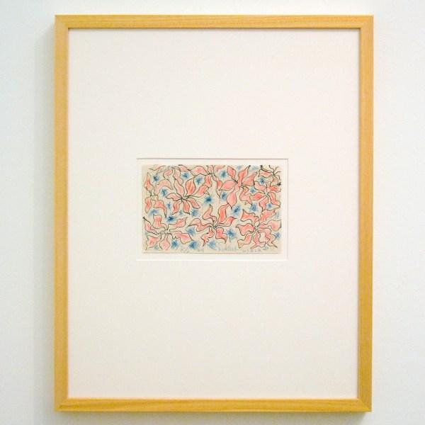 Henri Matisse - Weltrusten Lydia - Inkt en potlood op papier, 1949