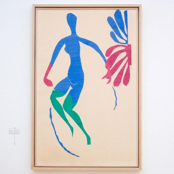 Henri Matisse - Blauw naakt met groene kousen - Gouache op papier, op papier, 1952