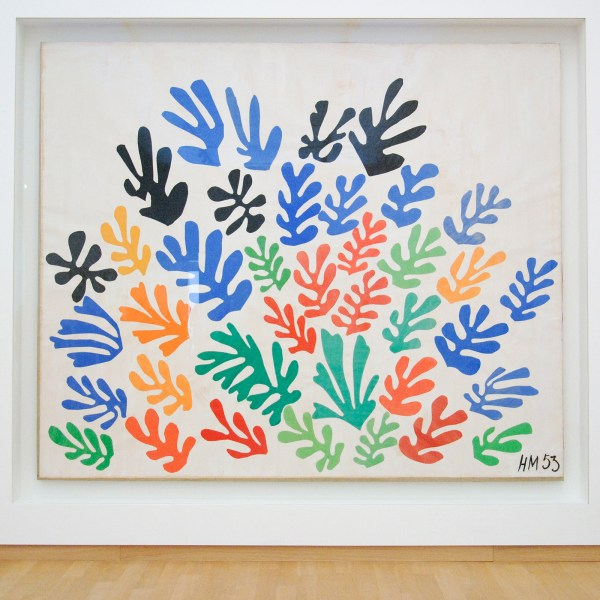 Henri Matisse - De schoof - Gouache op papier op papierop doek, 1953