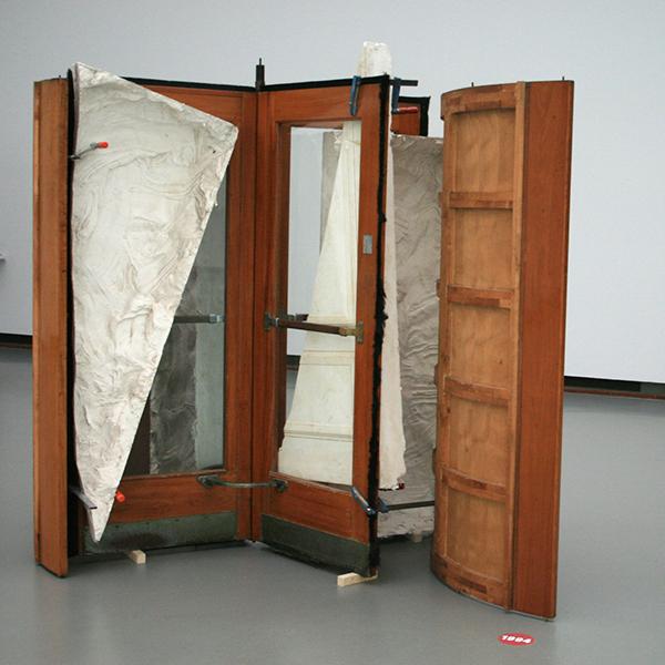 1994 - Paul Cox - Revolving Doors - Gips, hout, glas en metaal