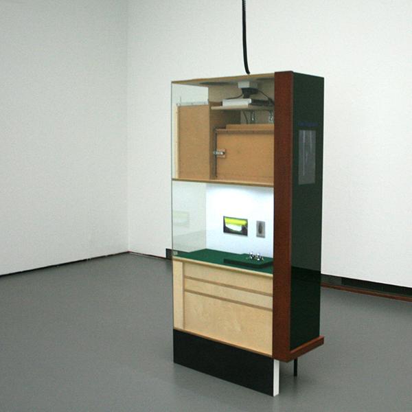 2008 - Rolf Engelen en Silvia B - Museum van Nagsael - 8,30minuten Video en diverse andere materialen