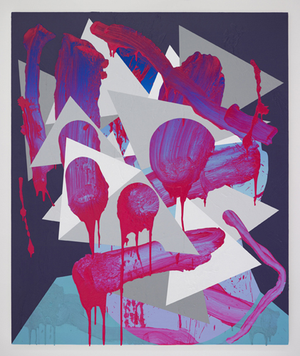Luke Rudolf - Portrait No 21 - 120cm x 100cm acryl en olie