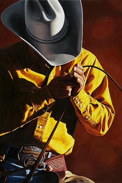 Cowboy #11 - 120x180cm Olieverf