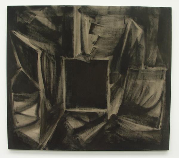 Robert Zandvliet - L'atelier de 'La Californie' à Cannes - 203x232cm Gesso op canvas